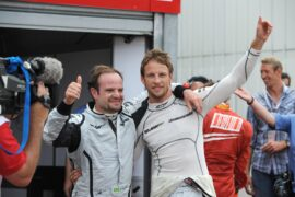 Barrichello: Hamilton better than Schumacher
