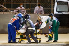 Haas hopes Grosjean can race again this weekend