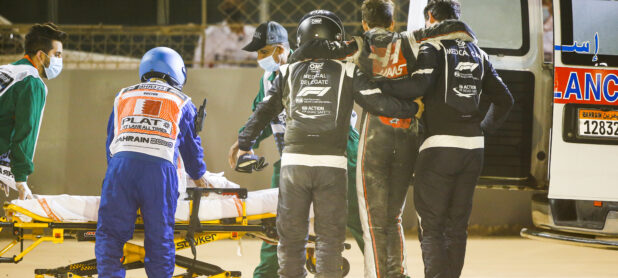 Grosjean skipping Abu Dhabi 'to avoid skin graft'