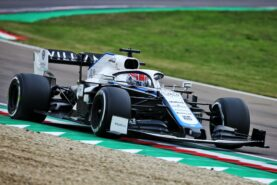 Hamilton defends Russell after safety car crash
