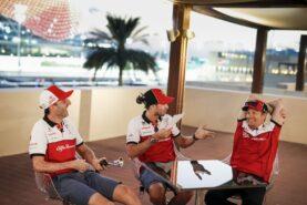 In the pitlane - Sauber's Game Plan