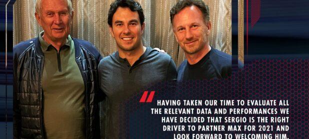 Red Bull Racing confirms Perez for next season