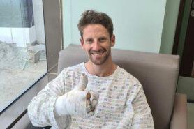 Grosjean admits he might feel nervous for race return after crash