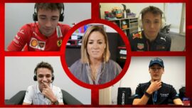 Norris, Russell, Leclerc & Albon The Twitch Quartet Quiz