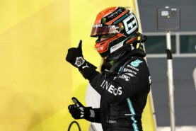 Media say it's time to put Russell back in second Mercedes