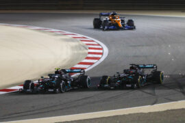 Mercedes Double Stack Pit Stop - 2020 Sakhir GP Debrief