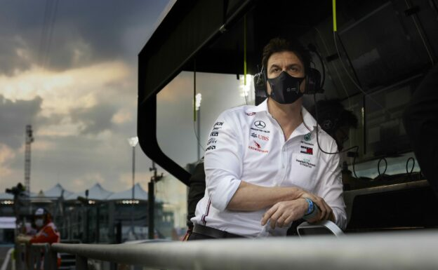 Toto Wolff unsure when his job as Mercedes team boss ends