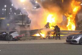 Grosjean recalls his crash and escape in detail
