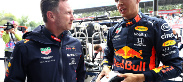 Horner says Albon could spend 'year on the bench'