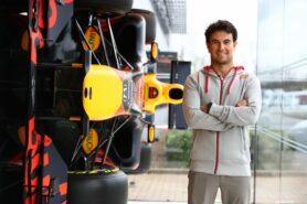 Behind The Charge at Silverstone with Sergio Perez
