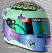 2021 helmet Daniel Ricciardo