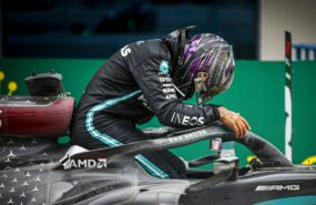 Wolff says it's up to Hamilton if he stays at Mercedes next season