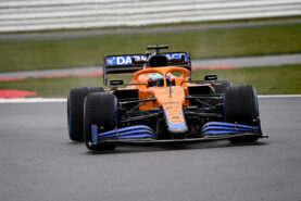 Ricciardo struggled to fit in the seat of his new McLaren