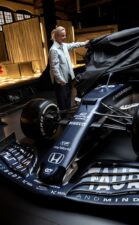 2021 Alpha Tauri AT02 F1 Car launch pictures