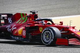 Leclerc afraid Ferrari team has only caught up a bit this season