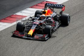 Max P1 on day 1 in Bahrain test by Peter Windsor