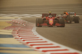 Sainz explains why first Ferrari race was not time to attack