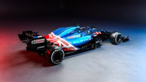 2021 Alpine A521 F1 Car launch pictures