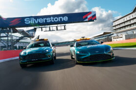 Mayländer shows the new Aston Martin Vantage F1 Safety Car