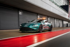 Aston Martin makes long-time F1 safety car driver nervous this new season