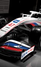 2021 Haas VF-21 F1 Car launch pictures