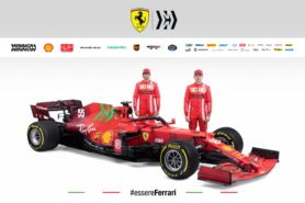Drivers surprised when they first saw the livery on the new Ferrari