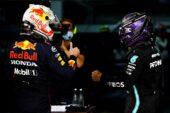 Verstappen plays down Hamilton shoulder nudge incident