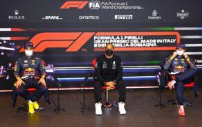 Post-Quali Press Conference 2021 Emilia Romagna GP