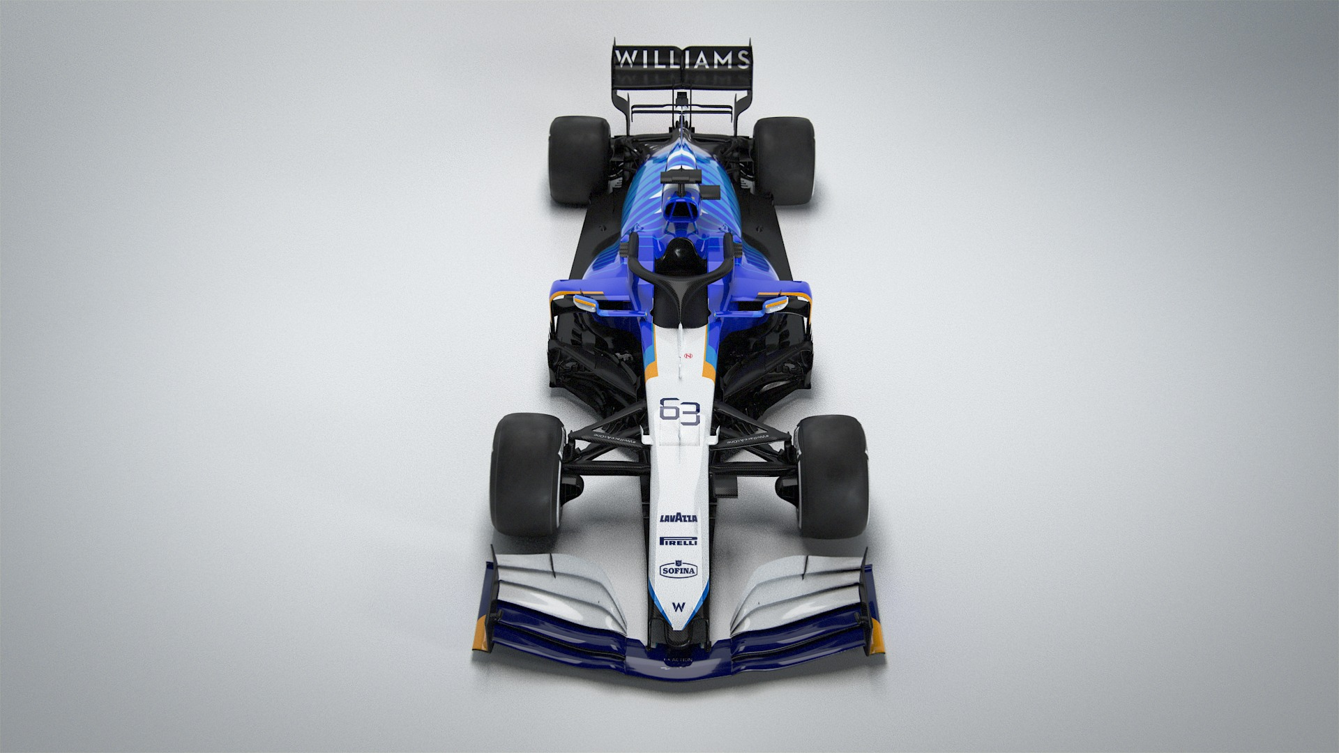 2021 Williams Fw43b F1 Car Launch Pictures