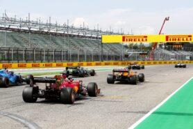 F1 Starting Grid 2021 E. Romagna Grand Prix Race at Imola