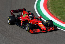 Charles' lid for the Emilia-Romagna GP
