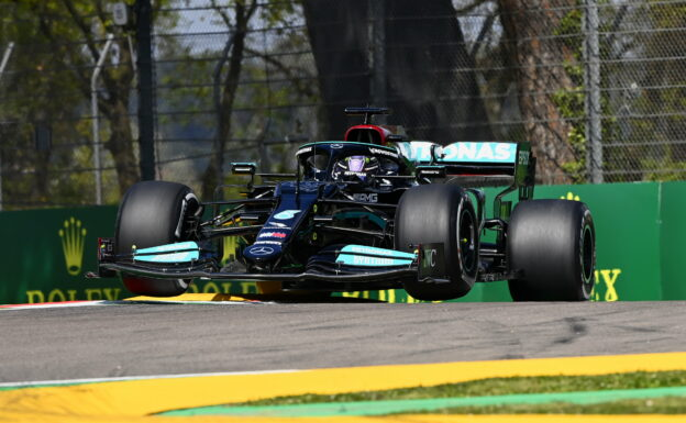 First Free F1 Practice Results 2021 E. Romagna F1 GP (FP1)