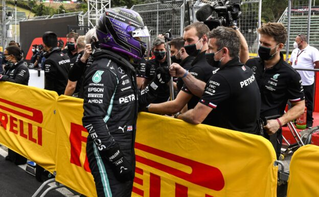 Wolff says Mercedes to be Hamilton's final F1 team