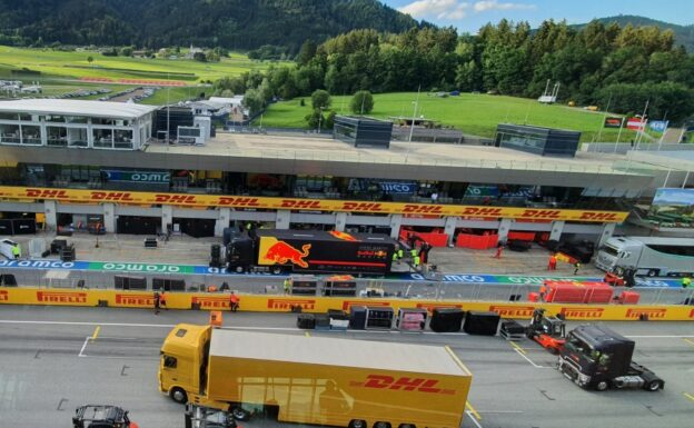 In the pitlane - Keeping the show on the road