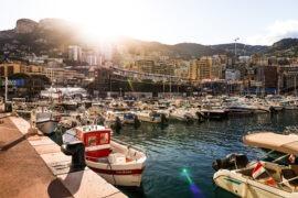 F1 Starting Grid 2021 Monaco Grand Prix Race at Monte Carlo