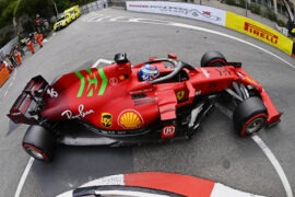 Leclerc gets away with post-pole Monaco after crash