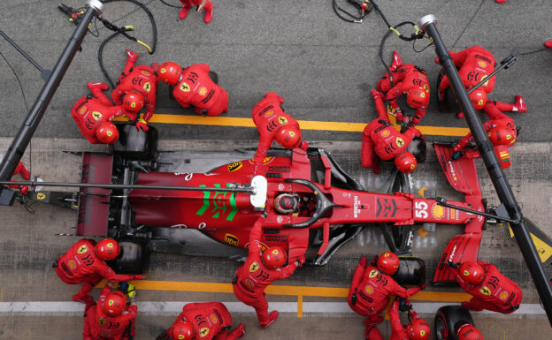 What it takes to be part in Ferrari's pit stop crew?
