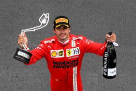 Italian media delighted with Sainz his performance at Ferrari