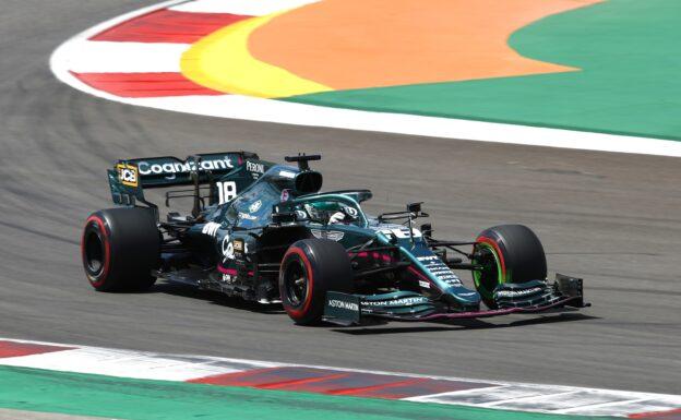 Vettel says Stroll drives new spec Aston Martin