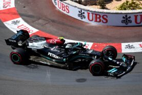 Mercedes removing fixed Monaco wheel nut