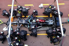 Mercedes team making errors under pressure?