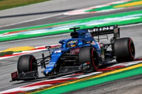 Alonso still not lacking confidence in his Alpine