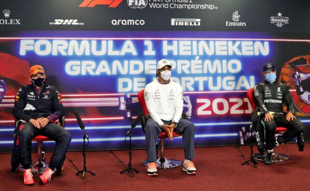 Post-Race Press Conference 2021 Portuguese F1 GP