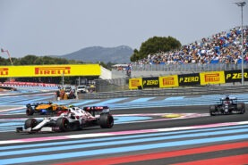 Friday free practice tyre analysis 2021 French GP