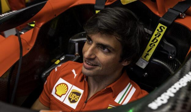 Sainz says Ferrari still lacking downforce to win this weekend