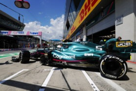 Aston Martin team set to brighten dull green livery