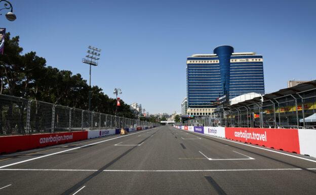 F1 Starting Grid 2021 Azerbaijan Grand Prix Race in Baku