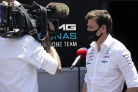Mercedes team boss view starting to get silly now?