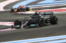 Red Bull Racing warns Mercedes team about front wing protest