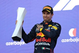 Red Bull team boss very happy with Perez' race performance